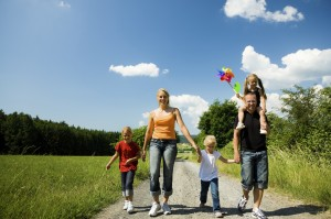 iStock outdoor family Med